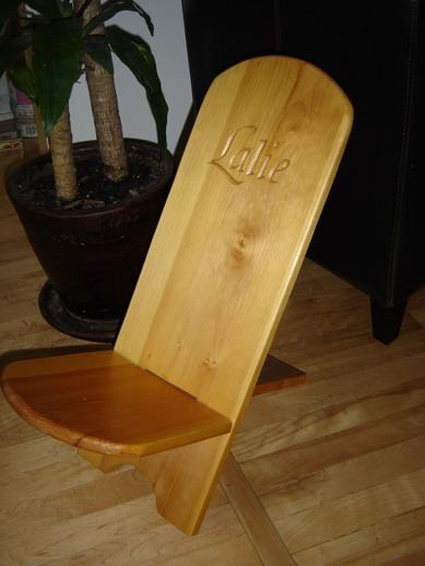 arno et le bois les chaises. Black Bedroom Furniture Sets. Home Design Ideas